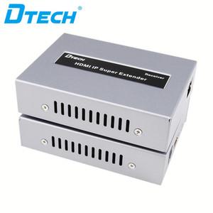 RX TX Cat5e UTP Cat6 IR Uzaktan Kumanda HD 1080P 120m POE HDMI IP Video Extender Sıcak öğe CCTV kamera tv radyo