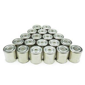 ome Eletrodomésticos 20PCS / lot aço inoxidável furo redondo Magnetron Caps para Microondas peças de reposição para microondas Copler Microondas ...