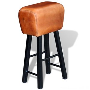 Bar Stool Real Leather Brown Outdoor Bar Stool Real Leather Brown Outdoor Furniture Furniture