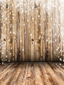 Белый снег Деревянная стена Виниловые фотографии Фоновые рисунки Деревянные полоски Текстура Фотобудка Фоны для детей Рождественская вечеринка Студия Реквизит