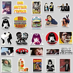 Us Classic Movie Pulp Fiction Stickers Graffiti Stickers For Luggage Skateboard Phone Laptop Bicycle Wall Guitar Scrapbooking In mmj2010 ALc