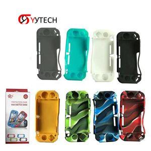 SYYTEC Livraison gratuite Console Housse En Silicone Coque de Protection Coque Cover Skin Pour Nintendo Switch Mini Lite