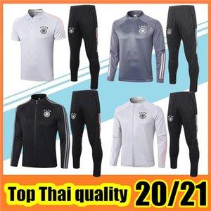 2020 2021 серый тренировочный костюм белый футбольный спортивный костюм Survetement футбольная куртка 20 21 черная полная молния куртки поло комплект