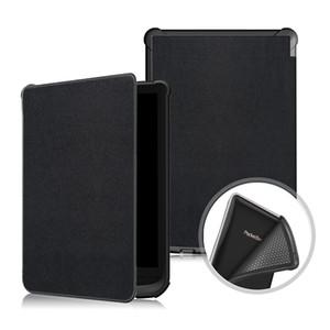 Ultra Slim Leichte, solide PU-Leder Auto Smart Hülle für PocketBook 616 627 632 6,0 Zoll Universal E-Reader + Stylus