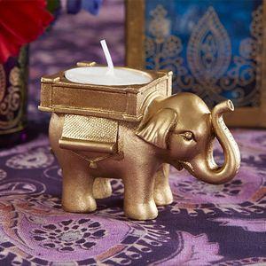 Лаки Слон Чай Свет Подсвечник Подсвечник Свадебный декор Splendid