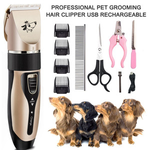 Professional Pet Dog Hair Trimmer Clipper Animal Grooming Clippers Cat Paw Claw Nail Cutter Machine Shaver Electric Scissor