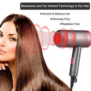 Профессия складной электрический фен воздуходувка путешествия бытовой электрический фен для волос горячий ветер низкий уровень шума фен ЕС США Plug 110-220V