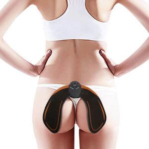 ستة طرق مدرب الورك الورك العضلات التمرين آلة الذبذبات Ems Hips Shaper Home Fitness Push Up Equipts Buttocks Massaging