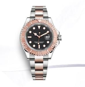 mens relógios de luxo 40 milímetros GMT 126710 Automatic relógio Batman Master 2 Ceramic moldura safira relógios jubileu cinta homens assistir 2813 o movimento