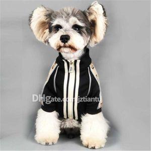 İlkbahar Sonbahar Moda Günlük Tasarımı Köpek Gömlek Kaliteli Kişilik Pet Coat Noel Günü Hediye GG Harf Desen Giyim Hediye