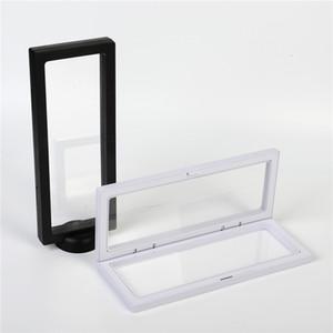 Affichage blanc Bijoux Noir Support Emballage Boîte 3D pour Collier Suspendre Présentation de bijoux Stand support rack