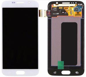 Samsung Galaxy S6 G920 için Ekran OEM Amoled Ekran Dokunmatik Paneller Çerçeve Olmadan