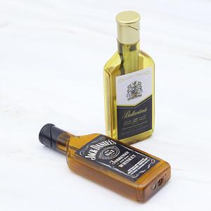 Nuovi stili Bottiglia di vino Più chiaro creativo del fuoco della torcia accendini a gas riutilizzabile per la sigaretta casa ornamenti decorativi