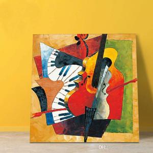 Alta qualidade pintado à mão HD Imprimir Picasso Abstract Art Oil Painting On Canvas Wall Art Home Deco alta qualidade vA.