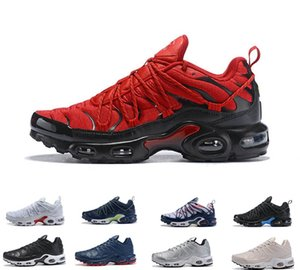 2019 New Colors champagnepapi Mercurial Plus TN se outdoor shoes Men Mens Black red white Triple Outdoor running shoe sneakers size 40-46
