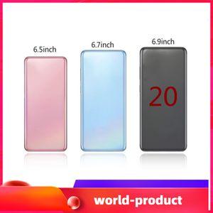 2020 Goophone의 Andorid 9.0 카메라 8.0MP 6.9inch ES20 + 20plus 20U 6.5inch ES10 + 쇼 4G LTE 1기가바이트 RAM 4기가바이트 / 8기가바이트 / 16기가바이트 ROM 와이파이 블루투스 스마트 폰