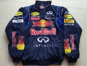F1 explosão Fórmula Um traje de corrida estilo europeu e faculdade americana casuais roupas de algodão jaqueta de inverno motociclismo terno w