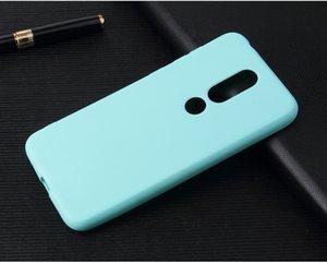 Ricestate матовый силиконовый ТПУ Мягкая задняя крышка чехол для Nokia X5 X6 1 2 3 5 6 8 X3 X5 2,1 3,1 5,1 6,1 Plus 2018 сплошной цвет корпус