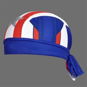 2020 Marvel Superhero Spider-Man Batman Superman Bike Scarf Cycling Caps Headscarf Headband Men Racing Bicycle Hat