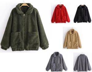 Jacket New North Mulheres Winter macio velo Osito Jaquetas Casacos Moda Casual Brasão Marca senhoras Coats pele do falso