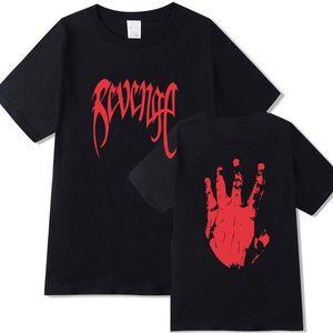 Месть Убить Лето Хлопок T-Shirt Мужчины Женщины Xxxtentacion Tee Shirt Bad Vibe Вечно Swag Tee Топы с коротким рукавом Футболка