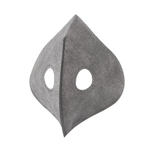 Sport maschera PM2.5 Maschera Filtro sostituibile non tessuto Filtri a Bocca Maschere filtri protettivi all'aperto Valve LJJA4026