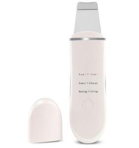 Vendita calda ricaricabile Ultrasonic Ion Face Scrubber viso detergente pulizia Spatola Peeling Vibrazione detergenti per il viso