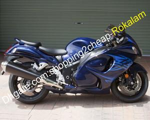 For Suzuki GSXR1300 08 09 10 11 12 13 14 15 16 GSXR 1300 Hayabusa GSX-R1300 2008-2016 Blue ABS Fairing Set (Injection molding)