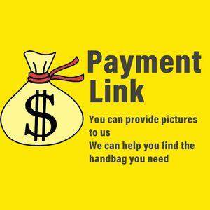 Lady Fashion Borse Borse del progettista di affrancatura di Donne per DHL SME collegamento di pagamento Sacchetti della signora delle donne borsa del progettista Pay link