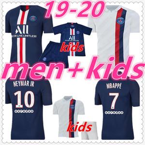 camiseta psg mens designer t shirts 2019 2020 Paris Saint Germain psg jordan camiseta de futbol mbappe cavani nino camiseta de fútbol kids soccer jerseys football shirt