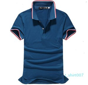 Homme Designer Polos Cotton Crew Neck Lapel Thin Summer Fashionable Fitness Breathable Quick Dry Short Sleeve t07