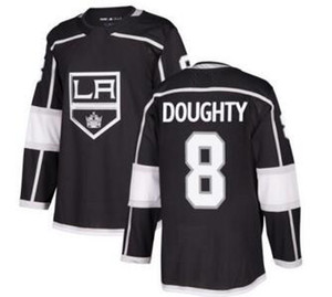 Kings # 8 DOUGHTY Black Home Athletic Maillot cousu, homme White Road 11 Boutique en ligne KOPITAR 77 CARTER 99 Gretzky Hockey Jerseys