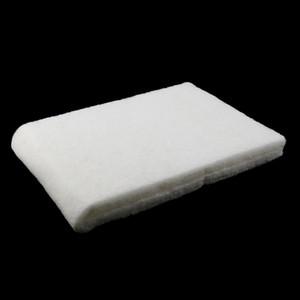 2pcs Bioquímica filtro de espuma Pond Filtration Fish Tank Aquarium Sponge Pad Branco
