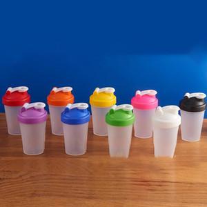 400ml bouteille sport bouteille shaker Mixer bouteille shaker en plastique Sports Fitness Leakproof eau Shaker Bouteilles KKA7011