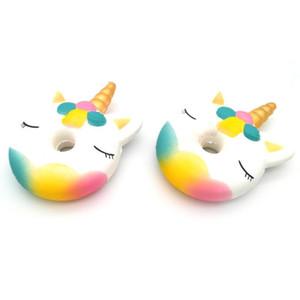 Belle Tuba Unicorn Donut Jouets doux Squishy Trois Couleurs résine Toy Nouveauté Rising Lent Articles Cadeaux Arrivée 4 1zjE1
