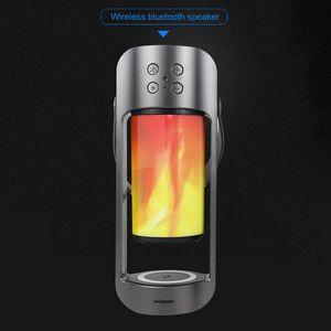 BRELONG USB portable electric belt Bluetooth audio flame lamp supports 10W wireless night light 1 pc