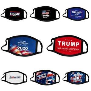 Роскошная Trump лица Маски Luxury Mask Washable ткань пыле езда Велоспорт цветов печати Твердые Маски Быстрая доставка # 918