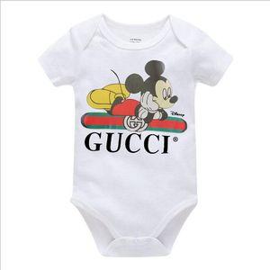 INS Herbst Baby-Jungenspielanzug Designer Kinder Streifen Revers langen Hülse Overalls Säuglingsmädchen Brief Spielanzug Jungenkleidung