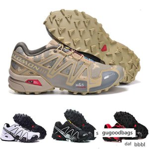 Hot Speed Cross 3 CS III Outdoor Male Camo Red Black mens Sports sneakers trainers Speed Crosspeed 3 running shoes size 40-46