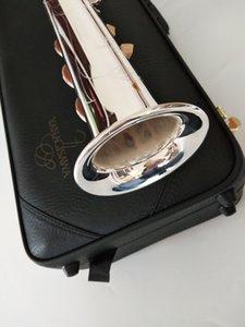 Yanagisawa S-992 Niveau professionnel Nouveau droit Japon plaqué Argent Soprano Saxophone Sib Instrument de musique Sax En cas