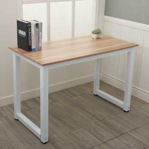 Simple Design moderne Bureau d'accueil Bureau d'ordinateur de bureau Table en bois Étude d'écriture