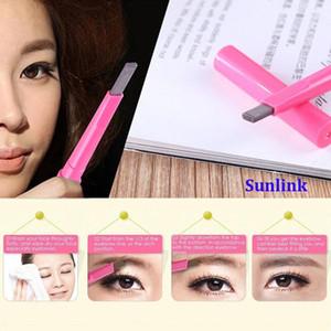 eyebrow pencil wholesale Waterproof Liner Eye Brow Powder Pen Makeup Beauty Cosmetic Tool multi colors 12cm