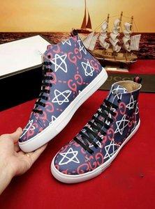 gucci shoes 2020 novos Genuine Lazer Homens Mulheres Sapatos Esporte Tênis Confortável respirável Moda Brand Design Stripes Ace Bee Couple 0325