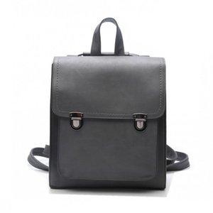 Free2019 Shoulders Both Multipurpose Woman School Wind Pu Skin A Bag Student Package England Ma'am Back