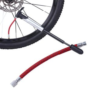 1PC Portable Bicycle Bike Tire Hand Air Pump Inflator Replacement 7mm Hose 60cm Braided Tube Bike Pumps