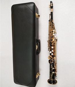 Giappone YANAGISAWA S-901 sassofono soprano B lacca oro nero tubo dritto soprano Sax strumenti a fiato professionale