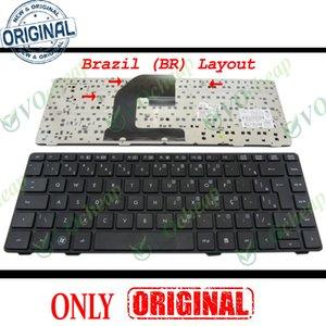 New Notebook Laptop keyboard FOR HP EliteBook 8460p 8460w 8470p 8470w ProBook 6460b 6465b wih frame Black Brazil BR layout - 638525-201