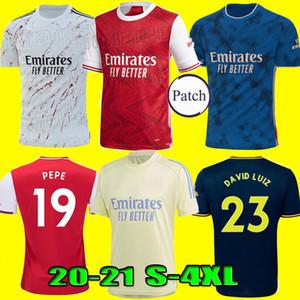 TAMANHO S-4XL 20 21 Arsen PEPE NICOLAS camisa de futebol camisa de futebol CEBALLOS HENRY 2020 2021 Camiseta de futbol maillot de pé