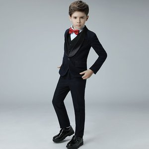 high quality boys suits for weddings kids Blazer Suit for boy costume enfant garcon mariage jogging garcon blazer boys tuxedo