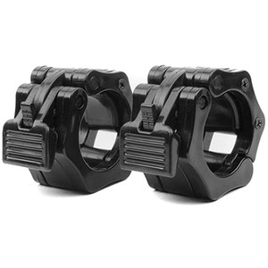 Olympic Size Barbell Collar Locks 28mm Bar Clamp Crossfit Weight Lifting Quick Release Lock Jaw, 1 Pair